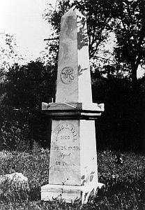 Burr grave