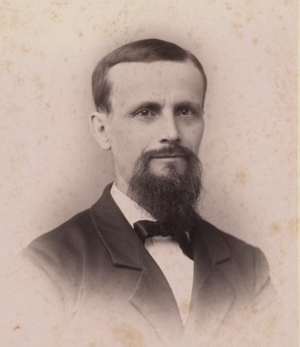 Ezra Cook, ca. 1870