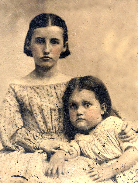 Mary Avery and Catherine Lucretia Blanchard