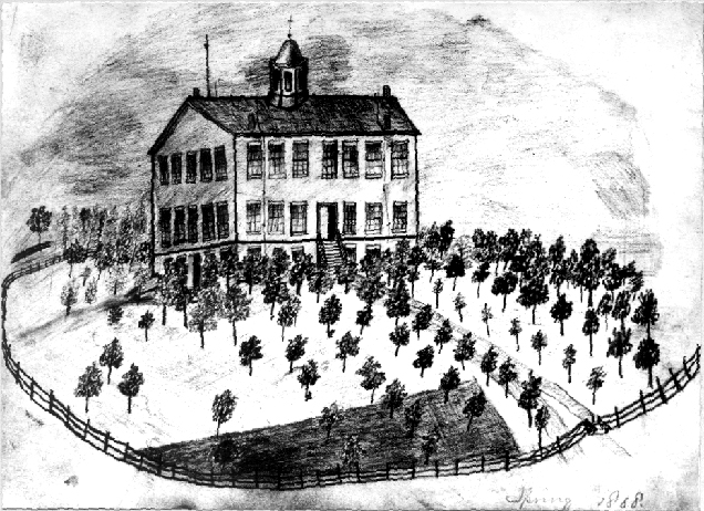 Blanchard Hall, 1868