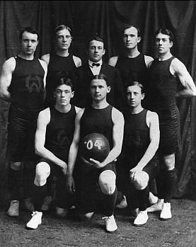 1904 Basketball team