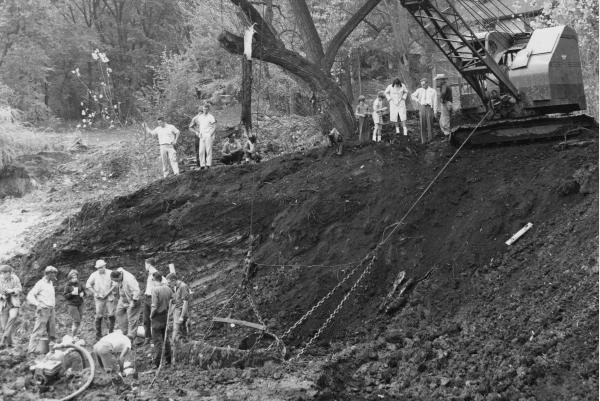 Excavation Of Perry Mastodon