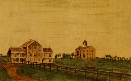 Wheaton College, 1860