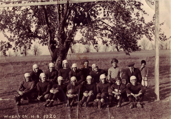Wheaton High School Football team, 1920
